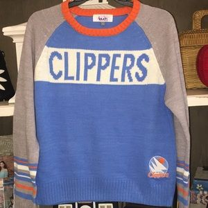 San Diego clippers team sweater ladies L Touch